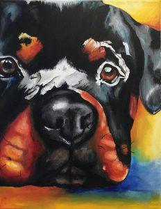 Roxy the Rottweiler