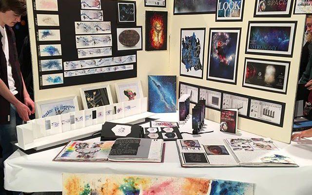 A-level Art Exhibition 2017